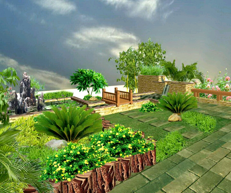 Ideas For Small Gardens South Africa Desain Rumah Minimalis Modern ...