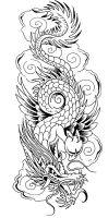 Vorlagen kostenlos tattoos drachen fabelwesen tattoo
