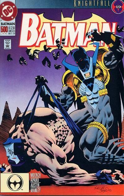 BATMAN #499 VERY FINE// NEAR MINT 1993 DC COMICS KNIGHTFALL PART 17