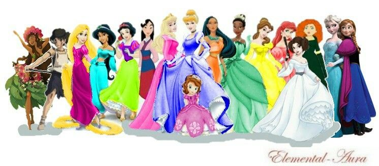 Image Anna Elsa And Moana Are In New Disney Princesses Lineup In