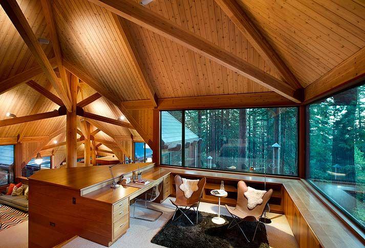Treehouse Masters Interiors | Treehouse Masters Interior Master Bedroom +  Sitting Area