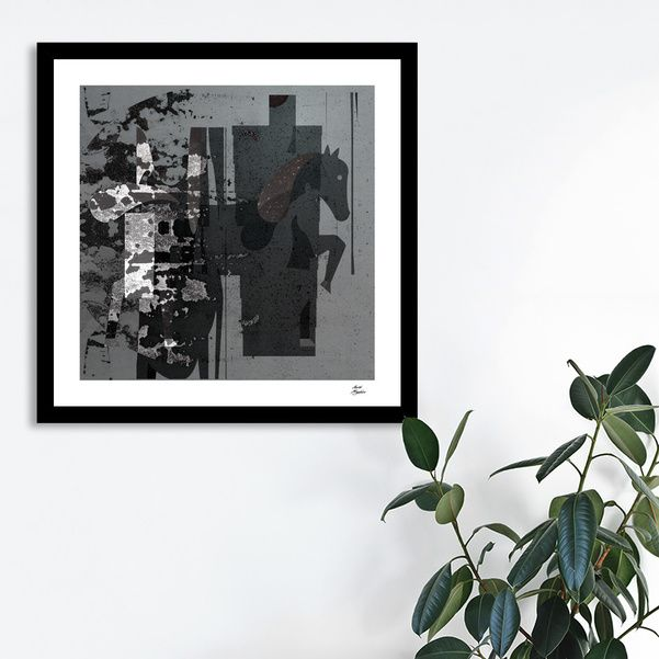Discover «horses one», Limited Edition Fine Art Print by Magdolna Novak - From $29 - Curioos