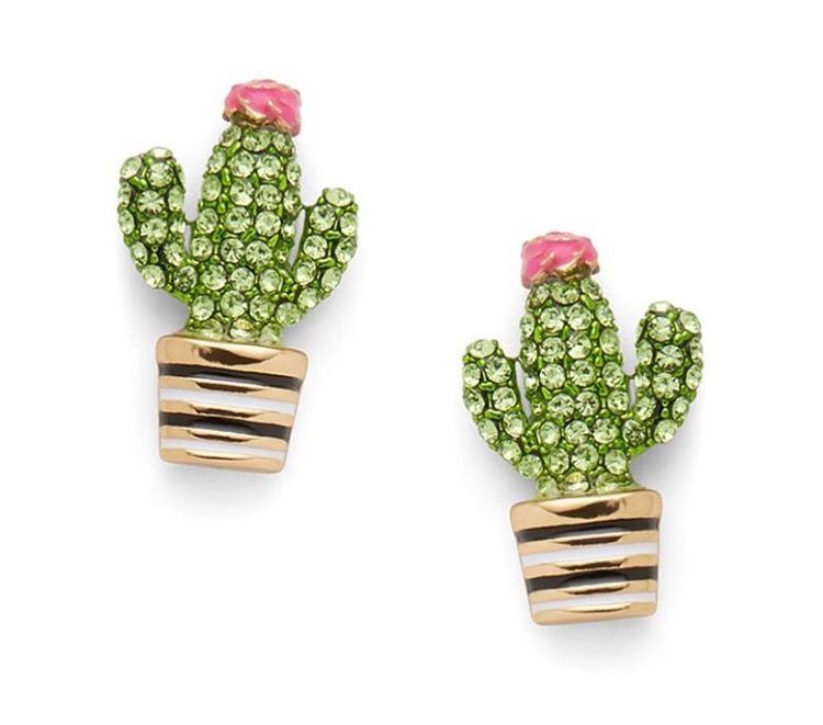 Kate Spade Cactus Stud Earrings Accessories Pinterest Earrings