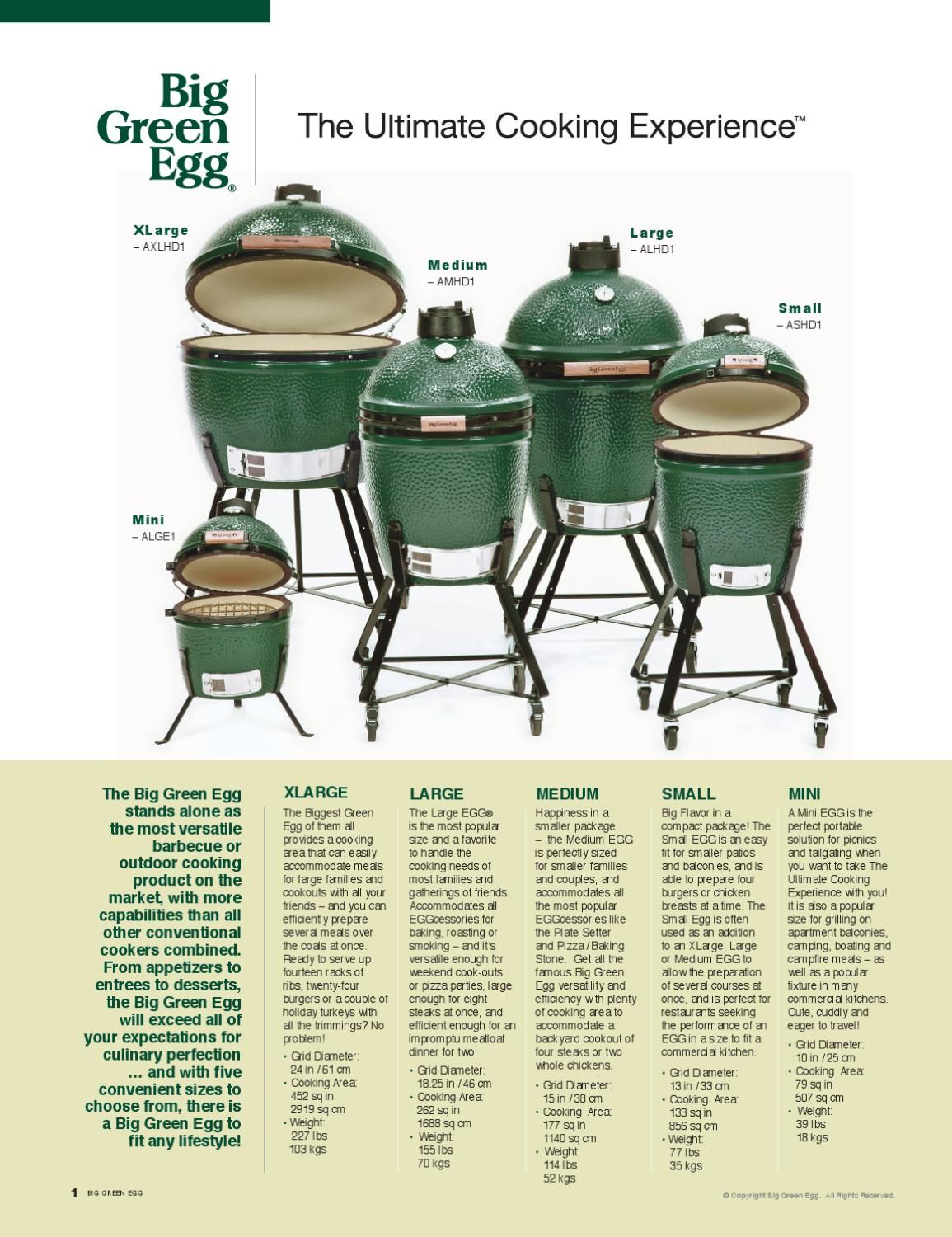 big green egg catalogue raleigh 39 s top picks grillen. Black Bedroom Furniture Sets. Home Design Ideas