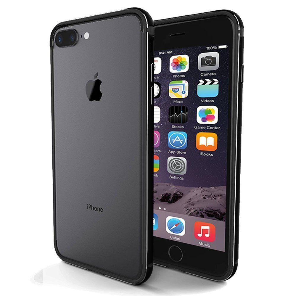 iPhone 7 / 8 / 7+ / 8+ Bumper, IFCASE Slim Aluminum Metal