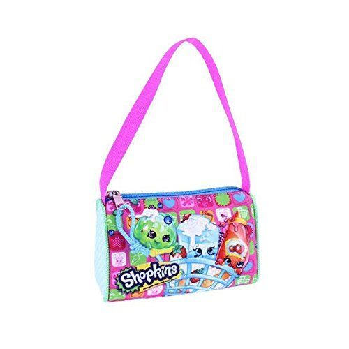 Shopkins Girls Colorful Shoulder Strap Small Purse NWT