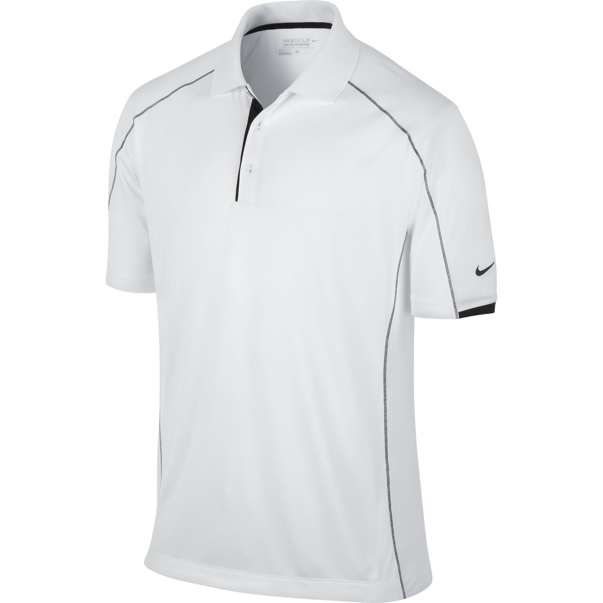 3fd68d9f Men Golf Clothing - Nike Golf Mens Tech Core Color Block Polo WHITE/BLACK//BLACK  XL #mensgolfclothes