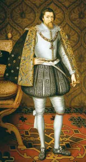 16th Century Men Costume Taming of the Shrew King james i