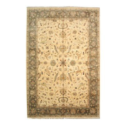 Eastern Rugs Agra Hand Knotted Ivory Area Rug Beige Area Rugs Colorful Rugs Area Rugs