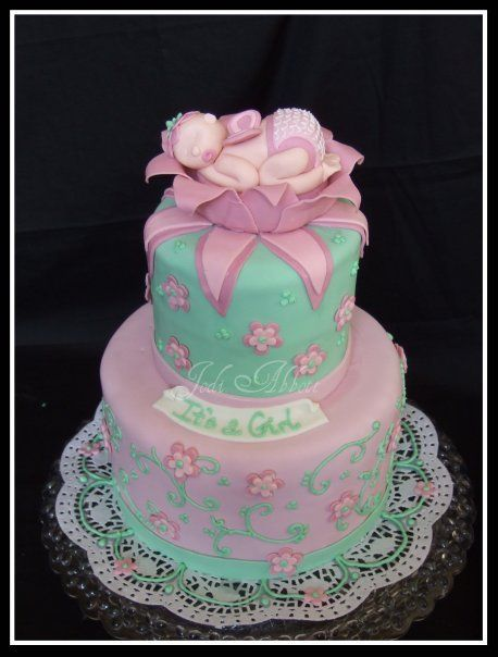 Baby and Bridal Showers - A Cake to Remember by Jodi ...