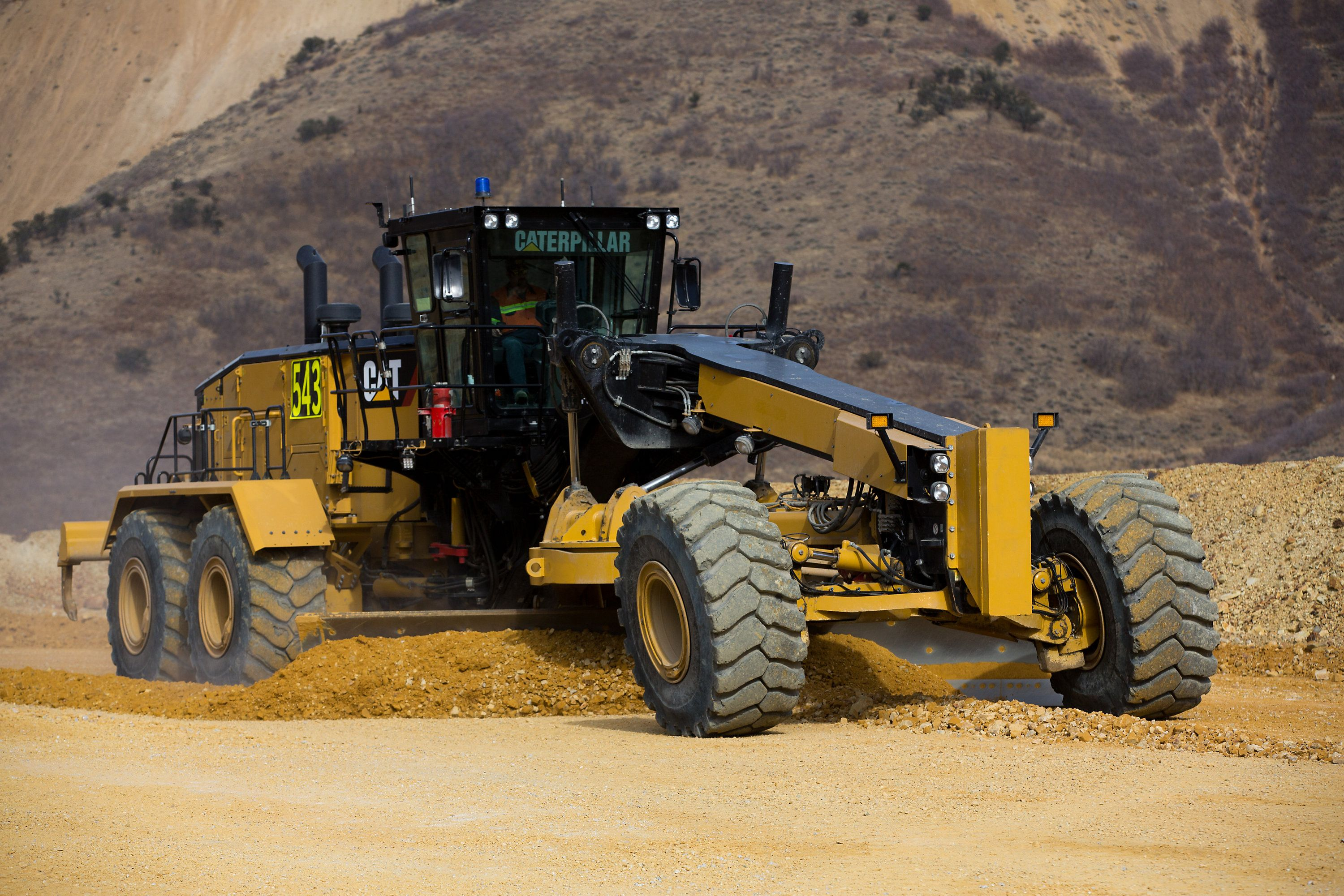 New Cat® 24 Motor Grader improves performance, lowers costs and advances safe operation - Rock & Dirt Blog Construction Equipment News & Information