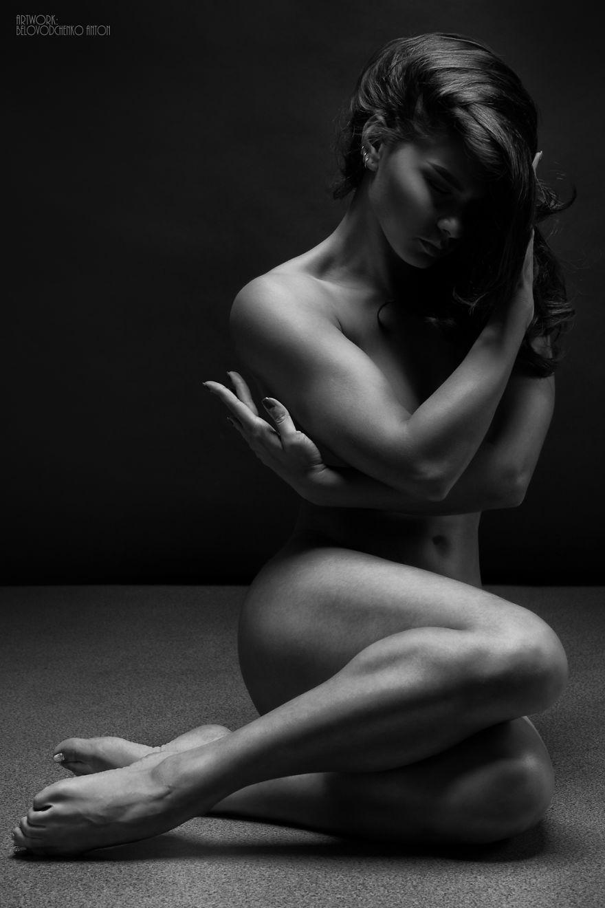 Art black nude photography white foto 544