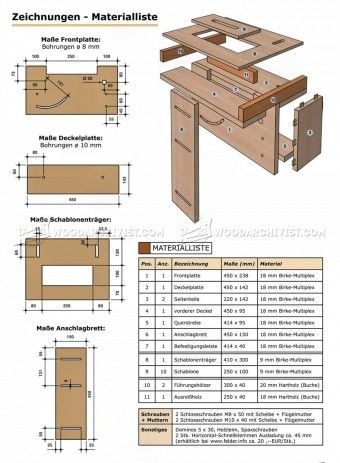 #656 Shopmade Multi-Joint Jig - Joinery Tips, Jigs and Techniques