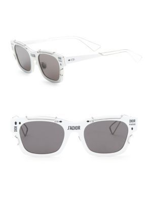 DIOR J Adior 51Mm Futuristic Square Sunglasses.  dior  sunglasses ... 8ac7b9c9e35a