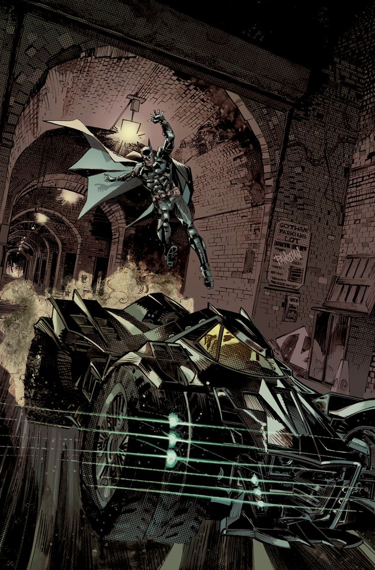Batman Arkham Knight Batmobile Cover By Urban Barbariandeviantart On