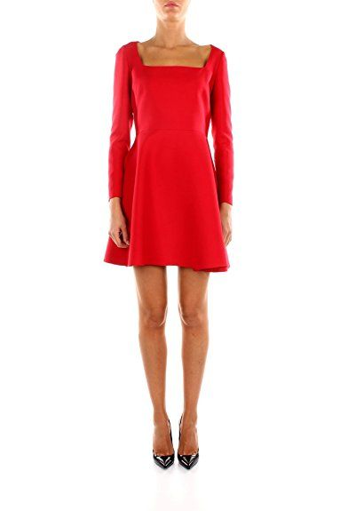 Kleider Valentino Damen Wolle Rot Rot Kleid - Outfits ...