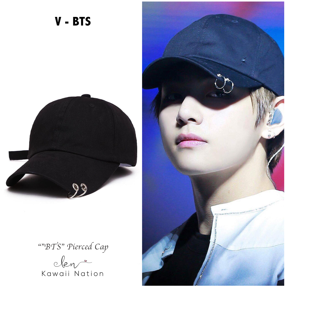 Idol Pierced Cap Bts Inspired Outfits Bts Clothing Kpop Fashion Outfits