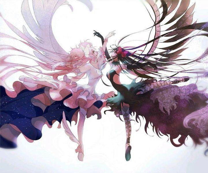 Photo of Ảnh Anime Couple ^-^ –  Couple 21: Đôi ( Angle & Demon)