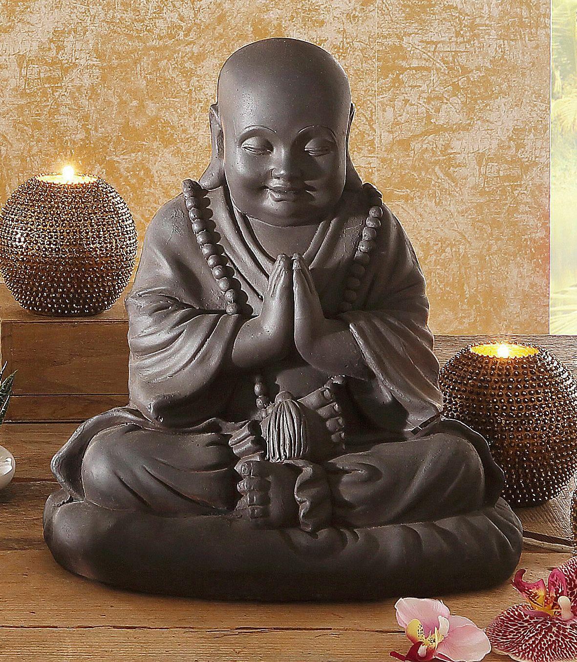 Artikeldetails:  Tolle Skulptur, Handbemalt, Fernöstliche Dekofigur,  Maße:  Höhe: 35 cm,  Material/Qualität:  Aus Kunststein (Polyresin),  ...