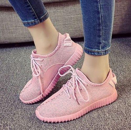brand new 80bc5 59458 Zapatillas para mujer Boost Fitness Gym Calzado Deportivo Color Pink
