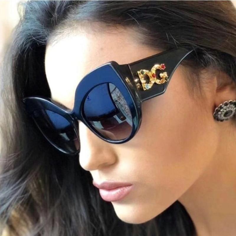 Women Sunglasses Luxury Retro Glasses gradient lenses New Vintage glasses 2019