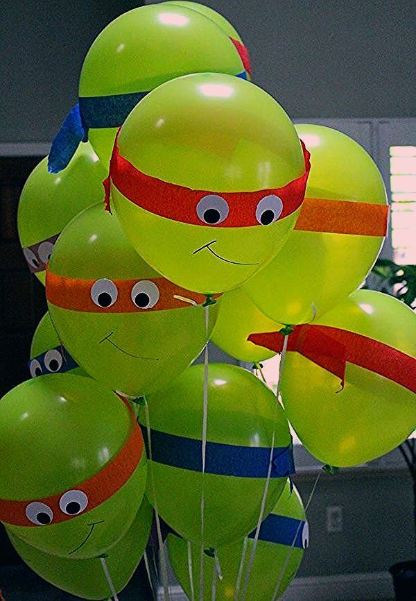 Photo of 30 Teenage Mutant Ninja Turtle Party Ideen – Pretty My Party – Party Ideen