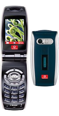 Sharp GX25 - My first phone with Vodafone between 2004-2006