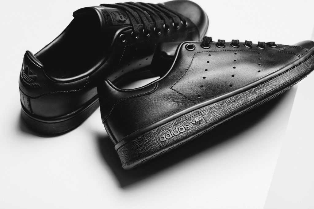 timeless design ba7e1 b0517 The Triple-Black adidas Originals Stan Smith Has Arrived ...