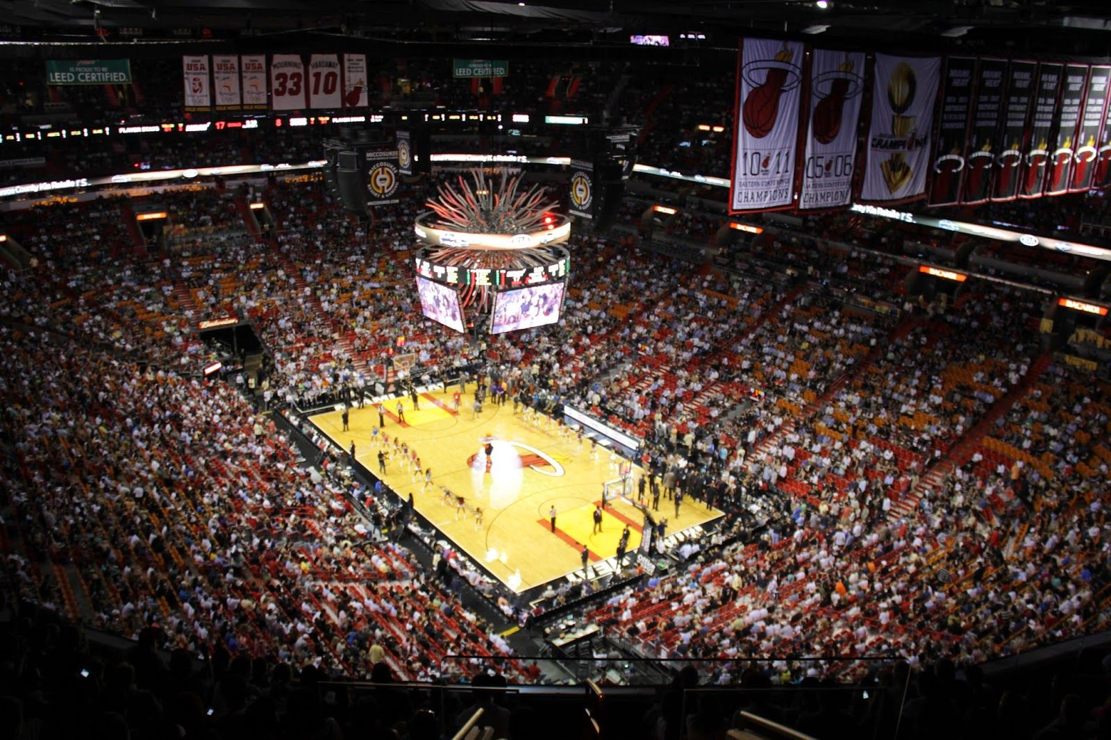 Miami Heat Luxury Suites American Airlines Arena Nba Playoffs
