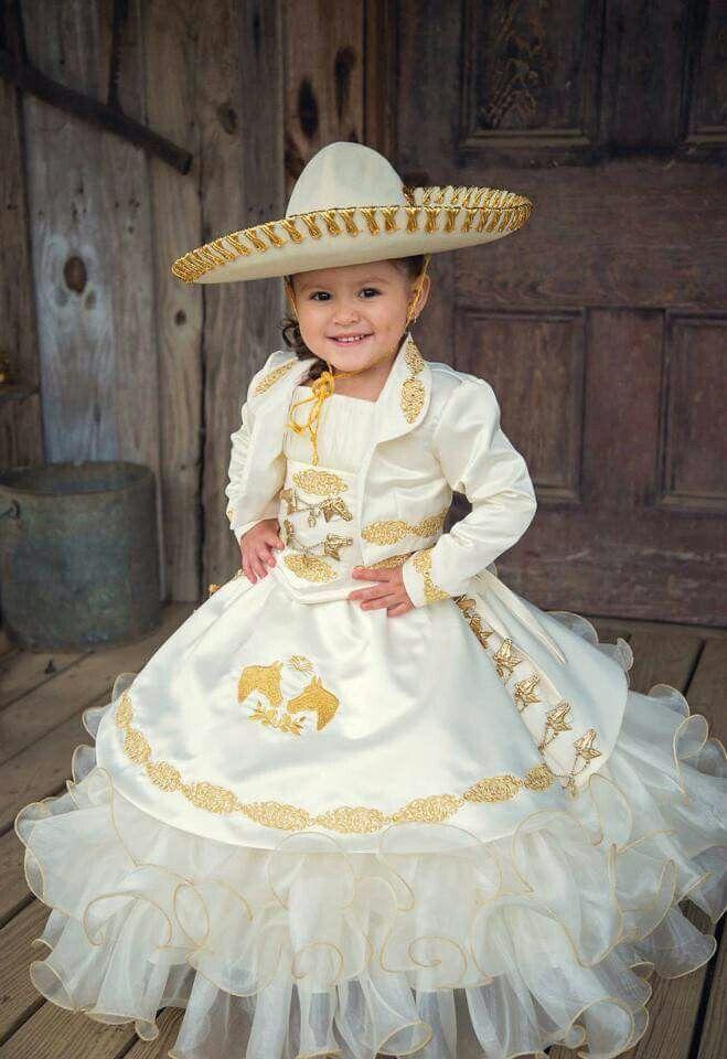 3 Años En 2019 Vestidos Mexicanos Para Niña Vestido De
