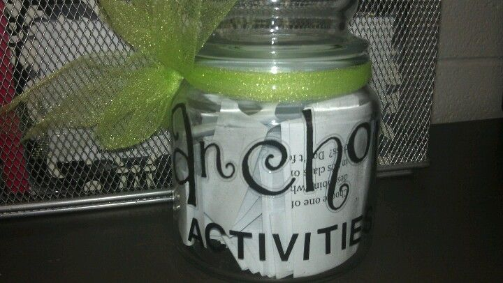 Anchor activity jar