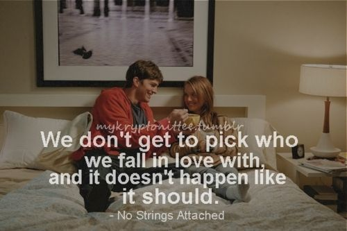 Tumblr Movie Quotes No Strings Attached Quotes Quote Cards