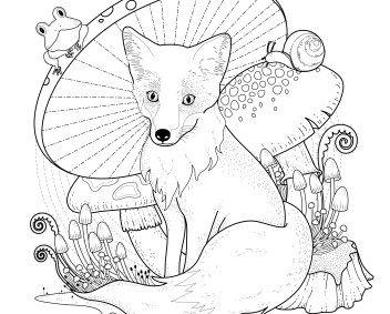 målarbilder gratis djur