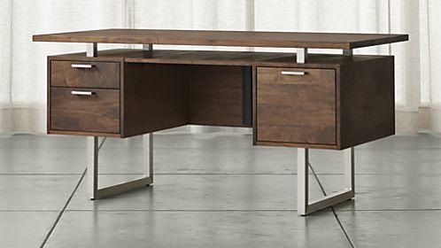 Man Cave Office Desk : Clybourn desk new home desks man cave office and
