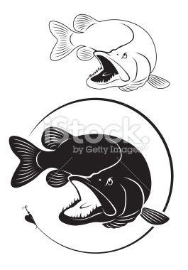Walleye Silhouette Google Search Fish Art Fish Silhouette Art