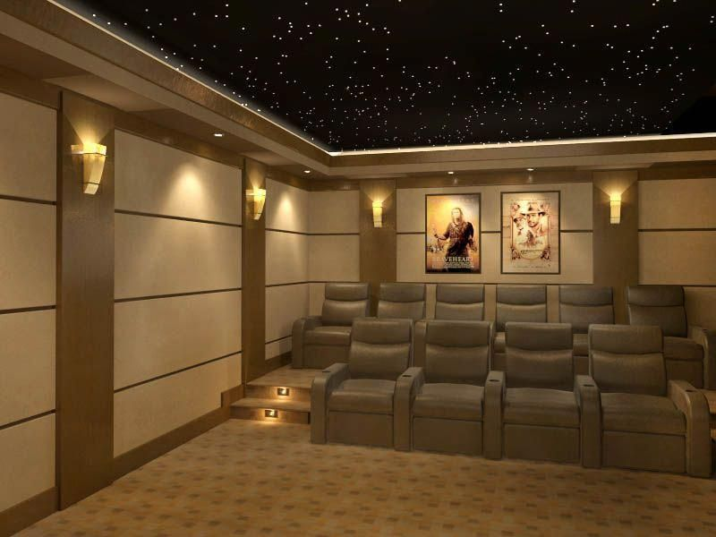 50 Basement Home Theater Design Ideas To Enjoy Your Movie Time With Family And Friends Godiygo Com Home Theater Room Design Home Theater Lighting Home Theater Seating