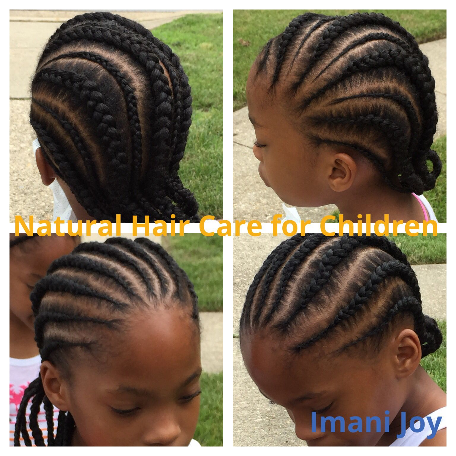 straight back cornrows | children's natural hair | pinterest