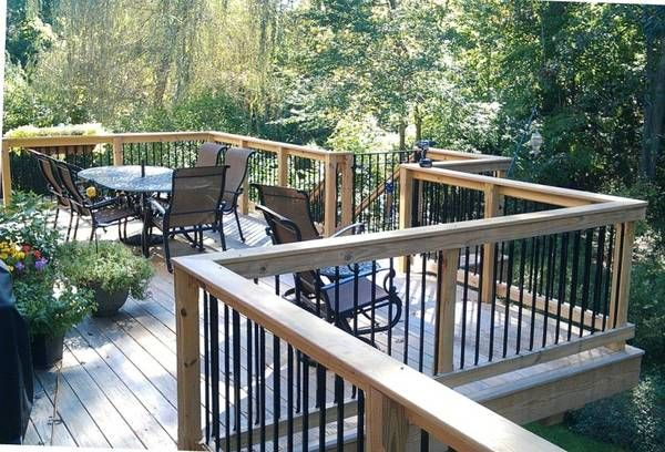 Best Balusters Deckrail Black Metal Building Hardware Metal 400 x 300