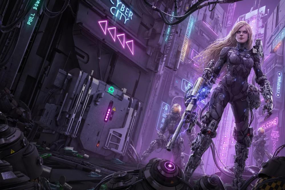 Pin by John Haberle on Scifi Cyberpunk aesthetic