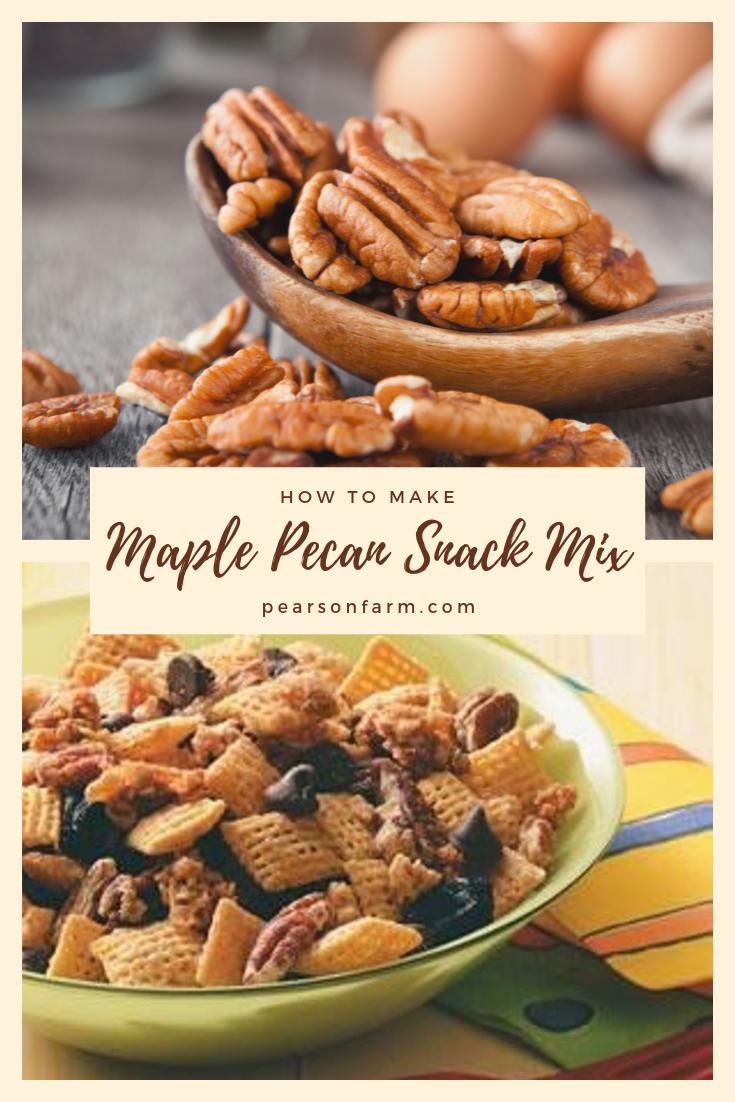 Maple Pecan Snack Mix
