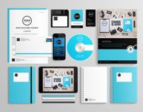 PAGE INTERACTIVE - brand indentity