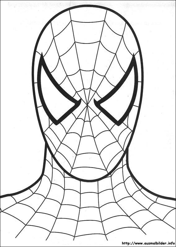 Spiderman Mask Ausmalbilder 31 Malvorlage Spiderman Ausmalbilder ...