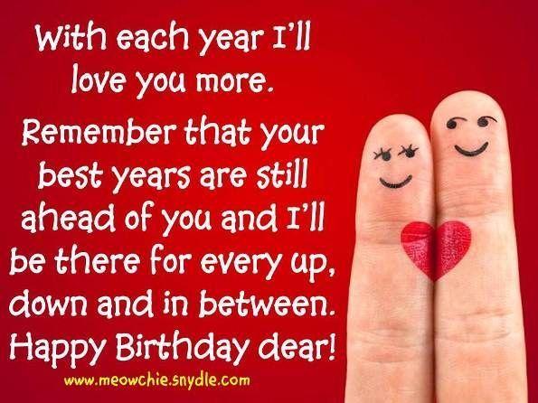 Happy Birthday Love Quote Birthday Happy Birthday Happy Birthday