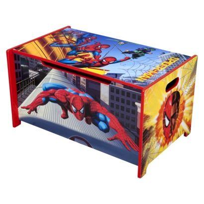 Delta Childrenu0027s Products Spiderman Toy Box