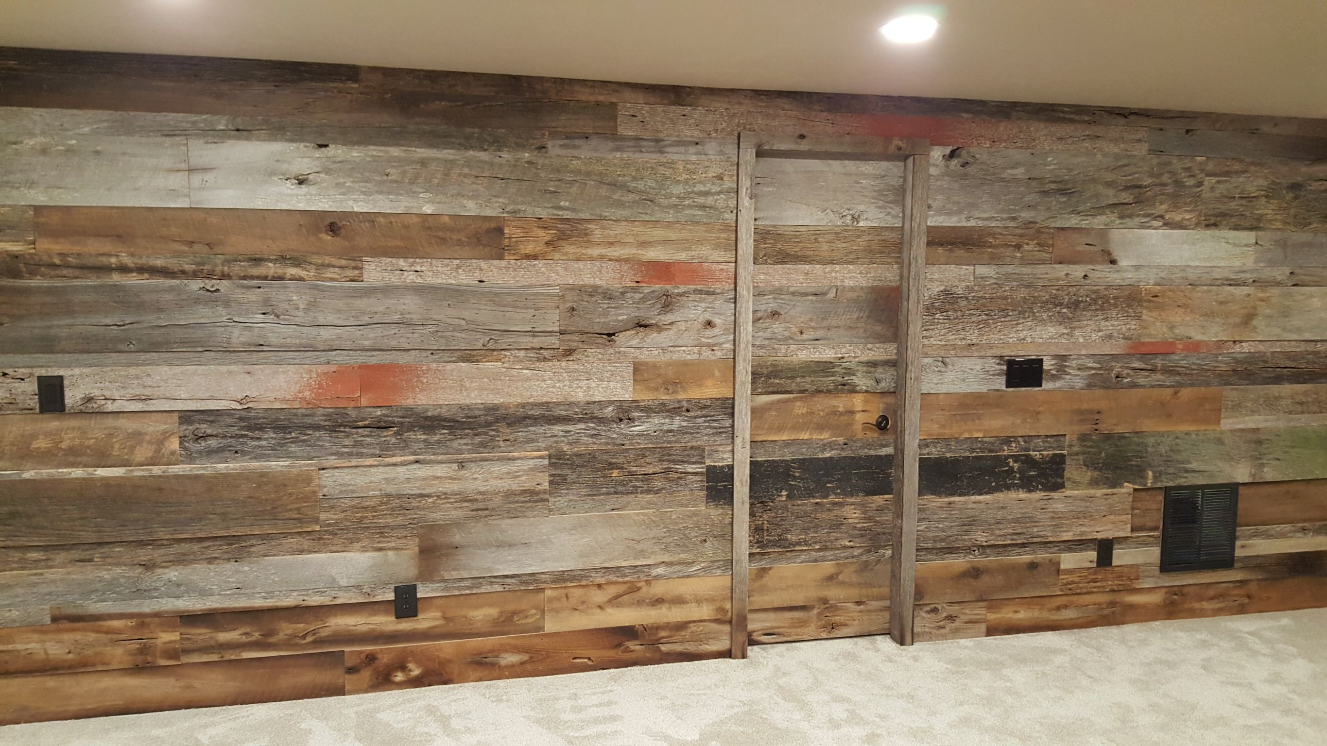 Thank You To Peter From Bella Basements For Sharing Photos Of A Beautiful Basement Install They Did In Littl How To Antique Wood Hand Hewn Beams Reclaimed Wood
