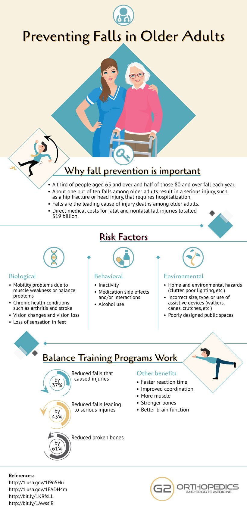 Preventing Falls in Older Adults Fall prevention
