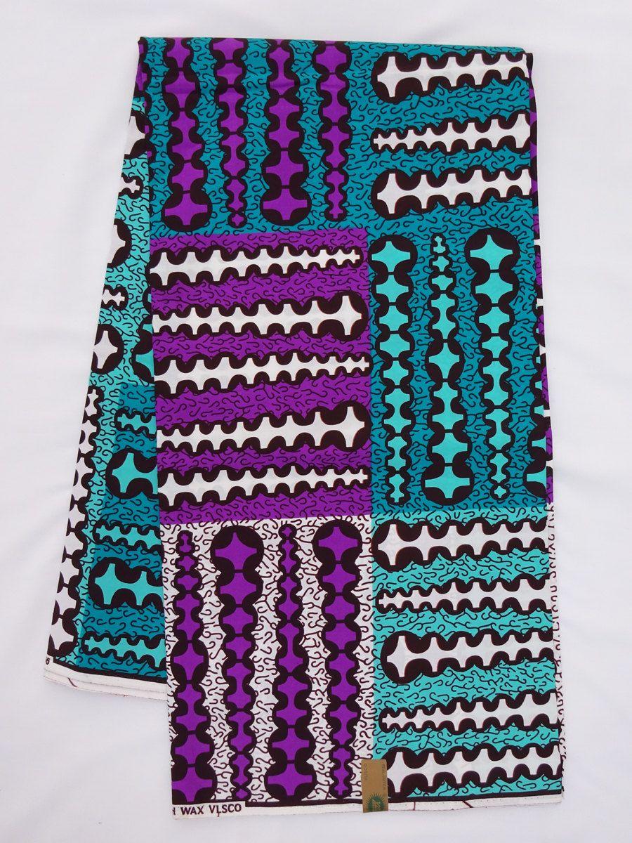 Kitenge  fabric Ankara wax print Wakanda 6 Yards  African Print Fabric