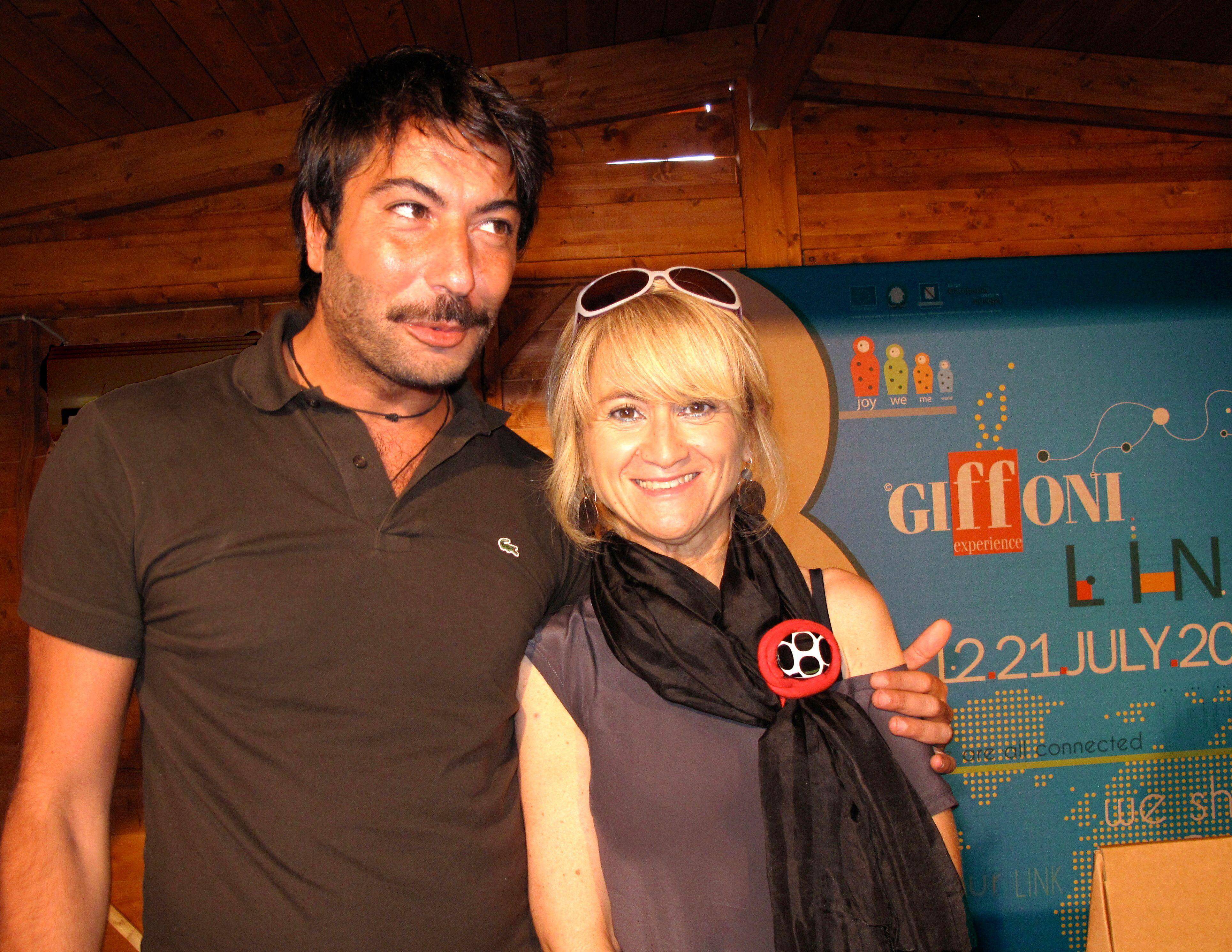 Gianmarco Russo stilista - Luciana Littizzetto -