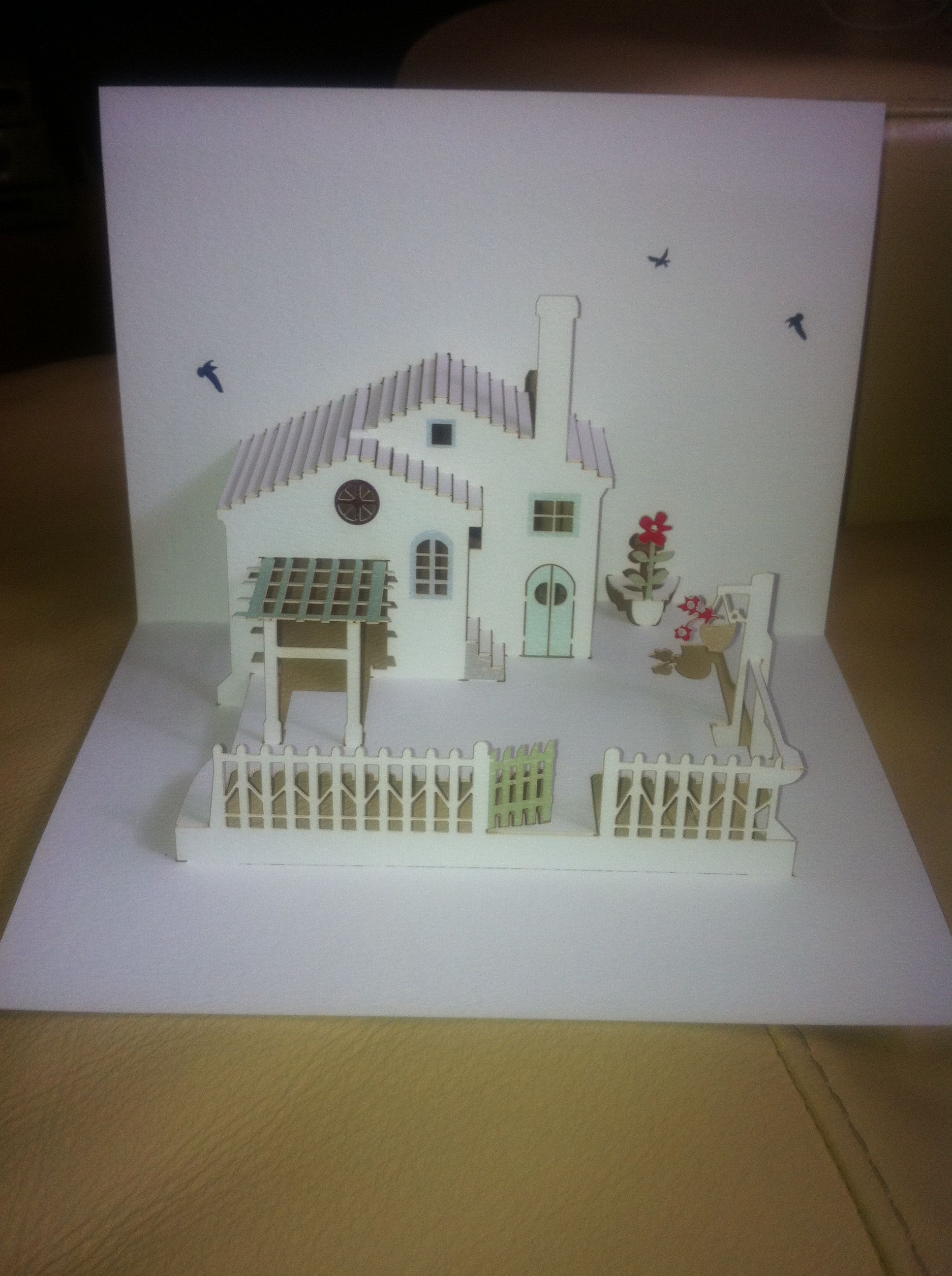 Pop Up Card For Folks 50th Wedding Anniversary Pop Up Art Pop Up Cards 50th Anniversary Cards