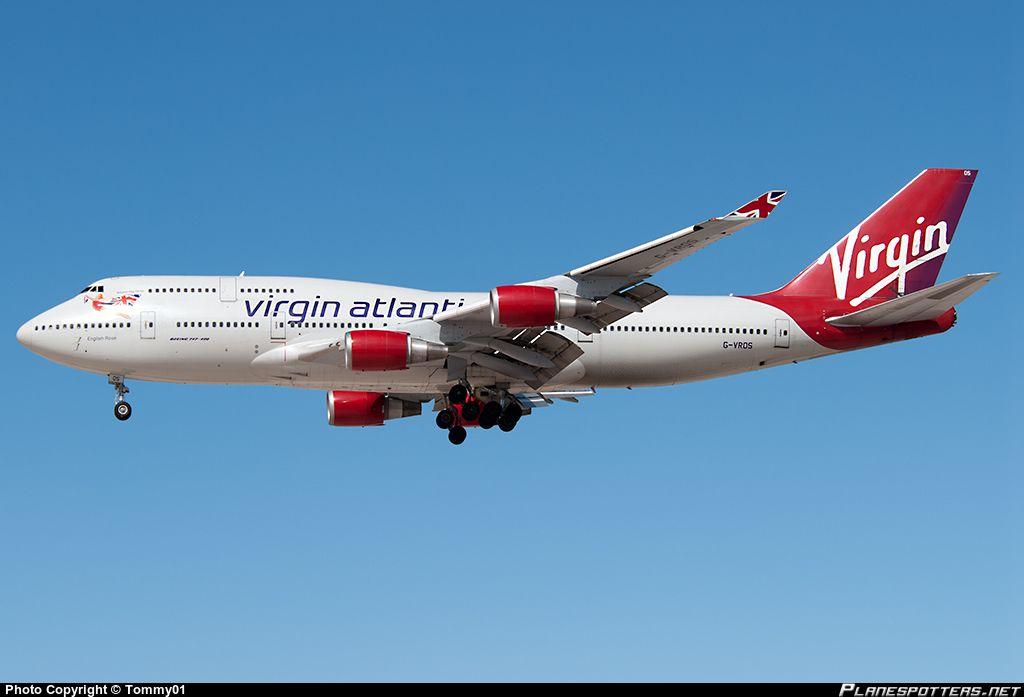 G-VROS Virgin Atlantic Airways Boeing 747-443 | Airplanes